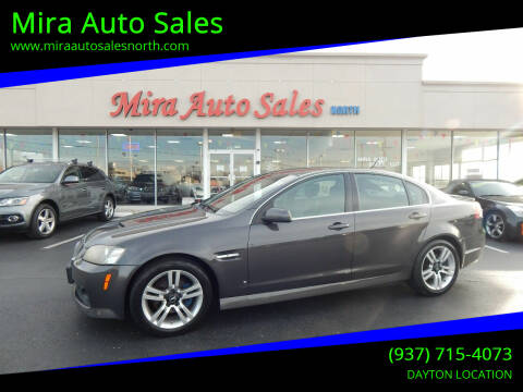 2008 Pontiac G8 for sale at Mira Auto Sales in Dayton OH