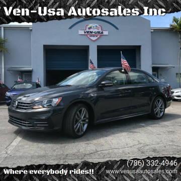 2018 Volkswagen Passat for sale at Ven-Usa Autosales Inc in Miami FL