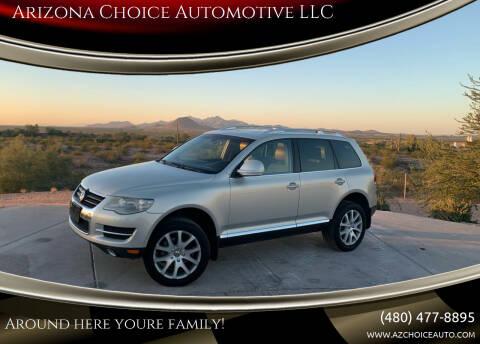 2010 Volkswagen Touareg for sale at Arizona Choice Automotive LLC in Mesa AZ