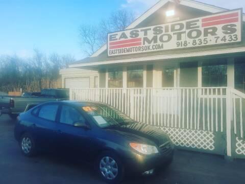 2007 Hyundai Elantra for sale at EASTSIDE MOTORS in Tulsa OK