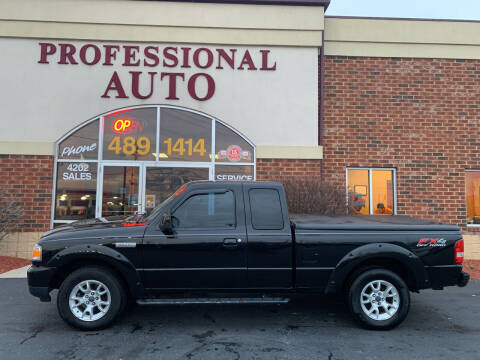 2011 Ford Ranger for sale at Professional Auto Sales & Service in Fort Wayne IN