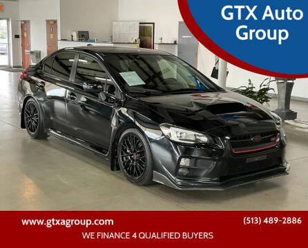2016 Subaru WRX for sale at GTX Auto Group in West Chester OH