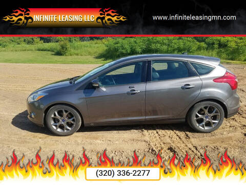 2013 Ford Focus for sale at Infinite Leasing LLC in Lastrup MN