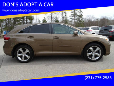 2013 Toyota Venza for sale at DON'S ADOPT A CAR in Cadillac MI
