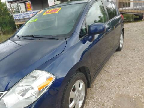 2012 Nissan Versa for sale at Finish Line Auto LLC in Luling LA
