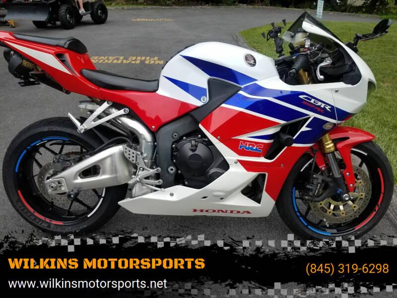 2013 Honda CBR600RR for sale at WILKINS MOTORSPORTS in Brewster NY
