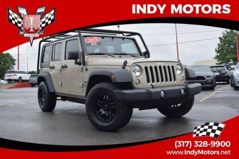 2018 Jeep Wrangler JK Unlimited for sale at Indy Motors Inc in Indianapolis IN