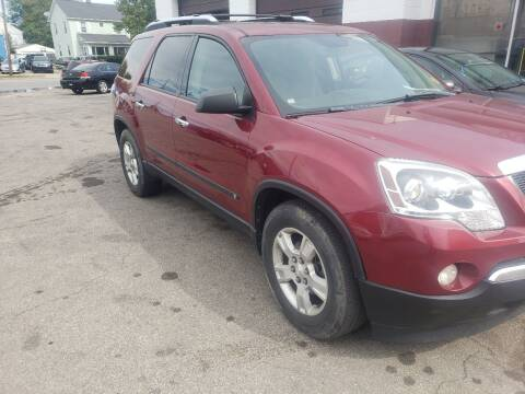2009 GMC Acadia for sale at M & C Auto Sales in Toledo OH
