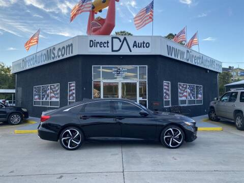 2019 Honda Accord for sale at Direct Auto in D'Iberville MS
