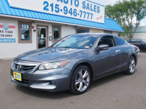 2011 Honda Accord for sale at B & D Auto Sales Inc. in Fairless Hills PA