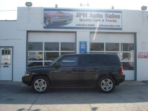 2010 Jeep Patriot for sale at JPH Auto Sales in Eastlake OH