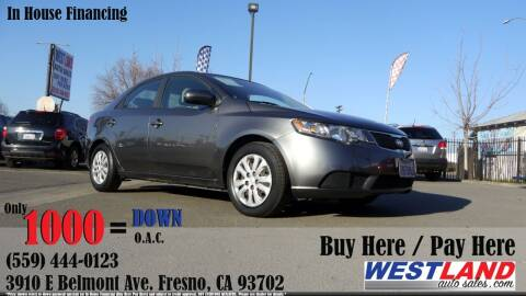 2013 Kia Forte for sale at Westland Auto Sales in Fresno CA