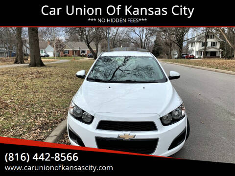 2016 Chevrolet Sonic for sale at Car Union Of Kansas City in Kansas City MO