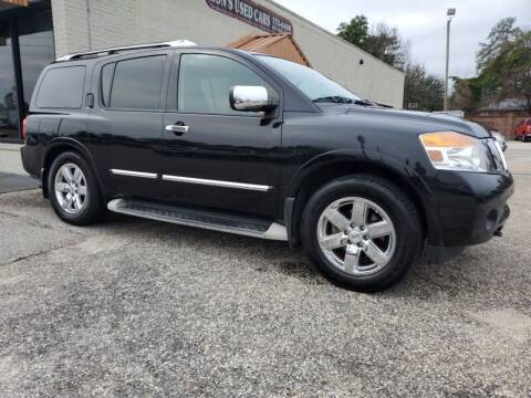 2010 Nissan Armada for sale at Ron's Used Cars in Sumter SC