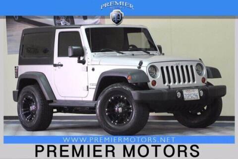 2011 Jeep Wrangler for sale at Premier Motors in Hayward CA