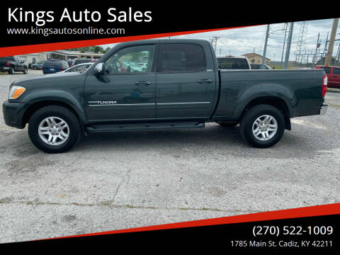 2006 Toyota Tundra for sale at Kings Auto Sales in Cadiz KY