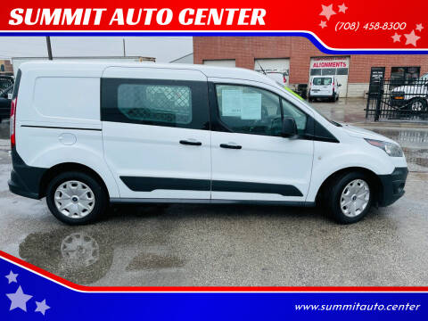 2018 Ford Transit Connect Cargo for sale at SUMMIT AUTO CENTER in Summit IL