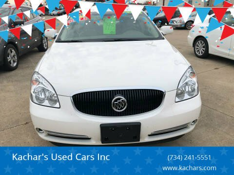 2006 Buick Lucerne for sale at Kachar's Used Cars Inc in Monroe MI