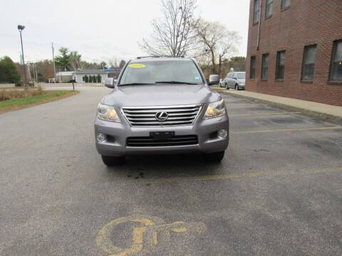2008 Lexus LX 570 for sale at Heritage Truck and Auto Inc. in Londonderry NH