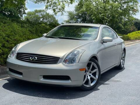 2004 Infiniti G35 for sale at William D Auto Sales in Norcross GA