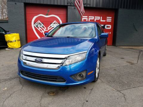 2012 Ford Fusion for sale at Apple Auto Sales Inc in Camillus NY