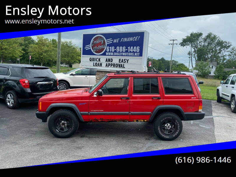 1998 Jeep Cherokee for sale at Ensley Motors in Allendale MI