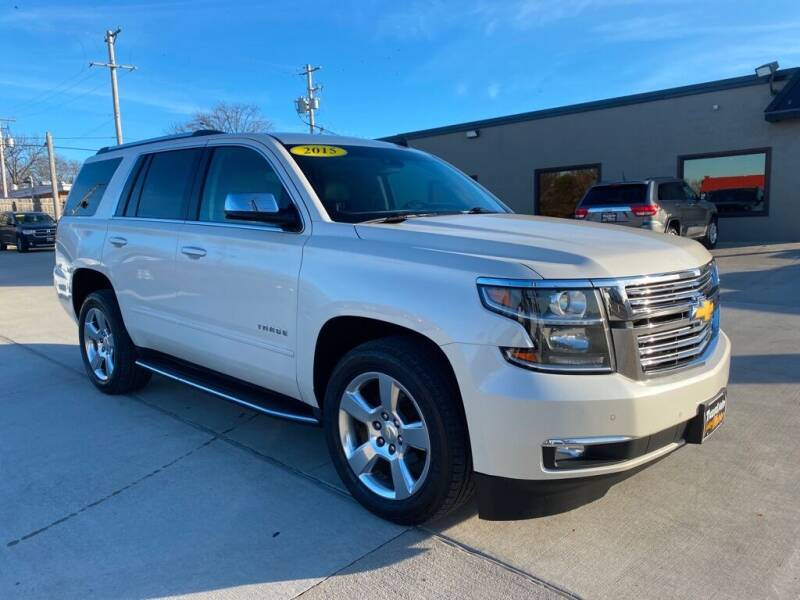 2015 Chevrolet Tahoe for sale at Tigerland Motors in Sedalia MO