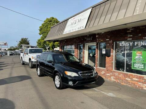 2009 Subaru Outback for sale at M&M Auto Sales in Portland OR