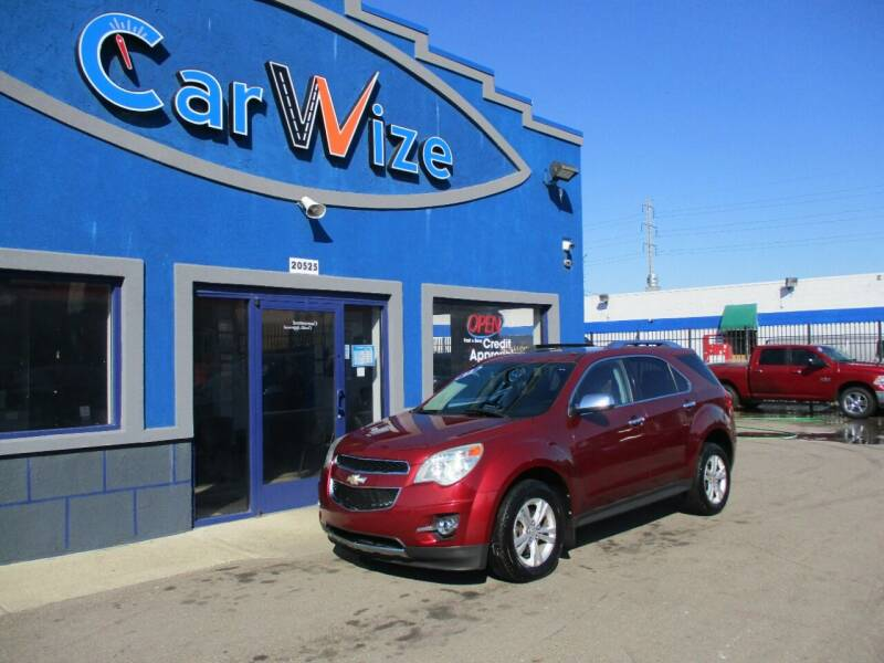 2011 Chevrolet Equinox for sale at Carwize in Detroit MI