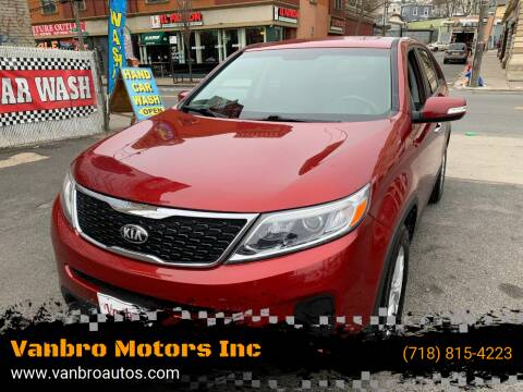 2015 Kia Sorento for sale at Vanbro Motors Inc in Staten Island NY