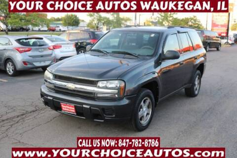 2004 Chevrolet TrailBlazer for sale at Your Choice Autos - Waukegan in Waukegan IL