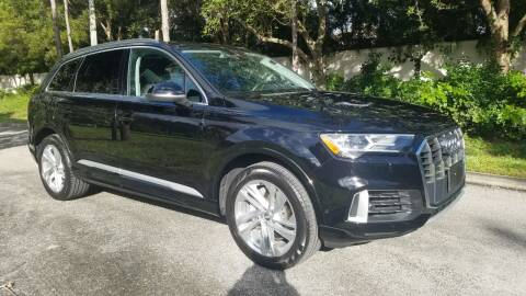 2020 Audi Q7 for sale at DELRAY AUTO MALL in Delray Beach FL