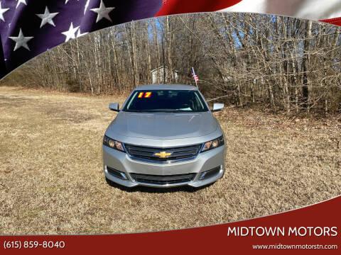 2017 Chevrolet Impala for sale at Midtown Motors in Greenbrier TN