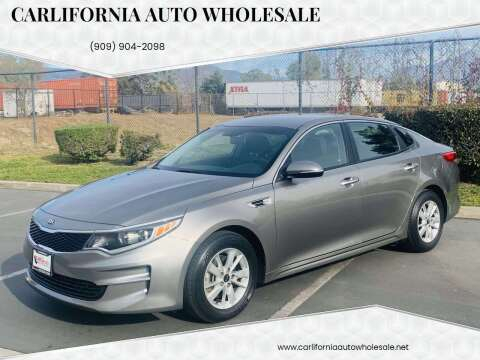 2016 Kia Optima for sale at CARLIFORNIA AUTO WHOLESALE in San Bernardino CA