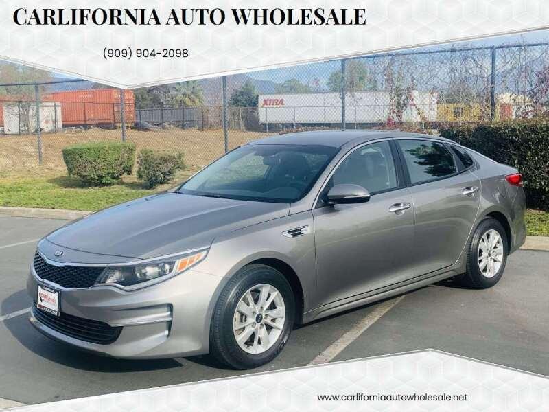 2016 Kia Optima for sale at CARLIFORNIA AUTO WHOLESALE in San Bernardino CA