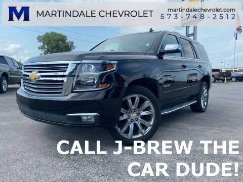 2015 Chevrolet Tahoe for sale at MARTINDALE CHEVROLET in New Madrid MO