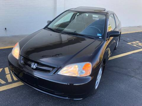 2003 Honda Civic for sale at Carland Auto Sales INC. in Portsmouth VA