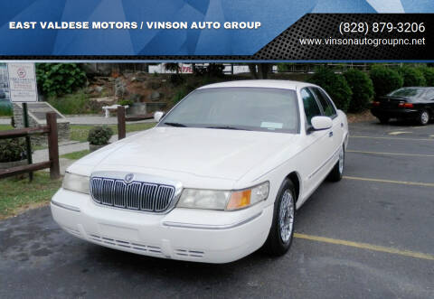 1999 Mercury Grand Marquis for sale at EAST VALDESE MOTORS / VINSON AUTO GROUP in Valdese NC