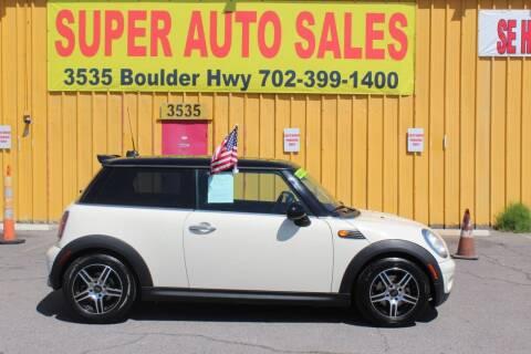 2010 MINI Cooper for sale at Super Auto Sales in Las Vegas NV
