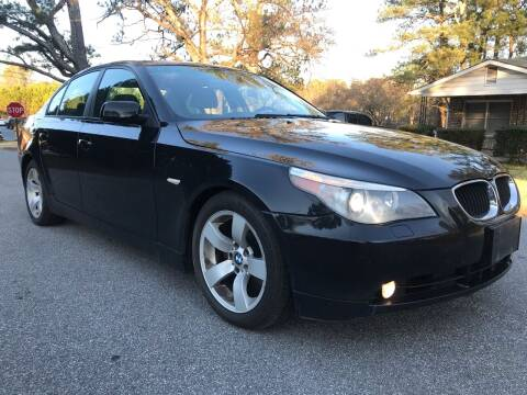 2005 BMW 5 Series for sale at ATLANTA AUTO WAY in Duluth GA