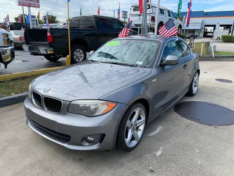 2012 BMW 1 Series for sale at Navarro Auto Motors in Hialeah FL