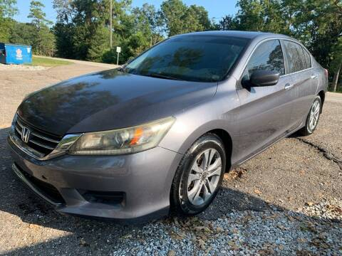 2013 Honda Accord for sale at Triple A Wholesale llc in Eight Mile AL