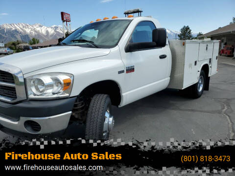 2008 Dodge Ram Chassis 3500 for sale at Firehouse Auto Sales in Springville UT