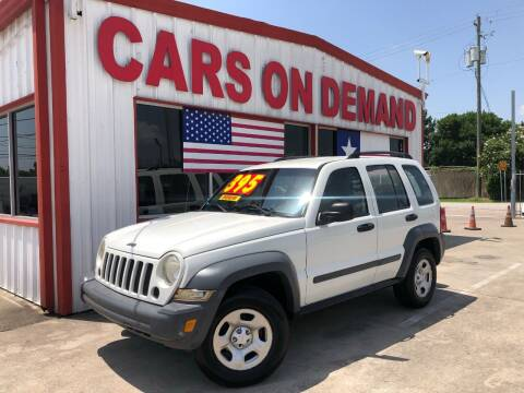 2005 Jeep Liberty for sale at Cars On Demand 2 in Pasadena TX