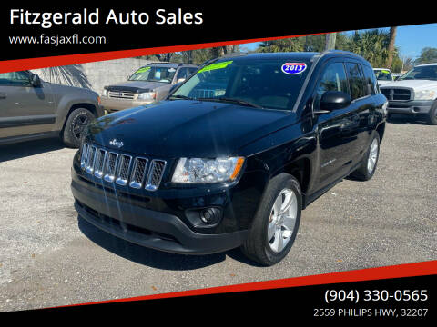 2013 Jeep Compass for sale at Fitzgerald Auto Sales in Jacksonville FL