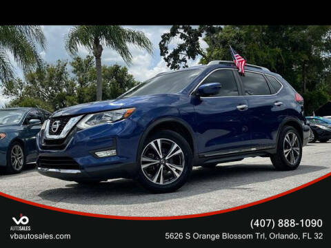 2017 Nissan Rogue for sale at V & B Auto Sales in Orlando FL