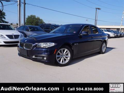 2015 BMW 5 Series for sale at Metairie Preowned Superstore in Metairie LA