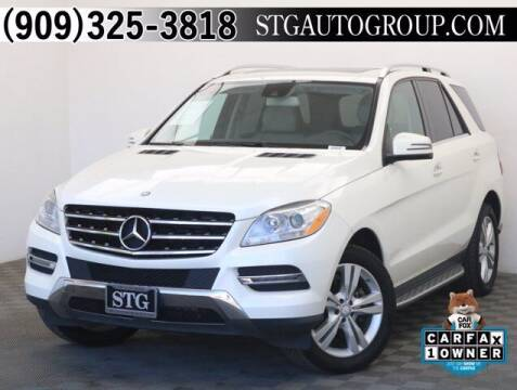 2013 Mercedes-Benz M-Class for sale at STG Auto Group in Montclair CA