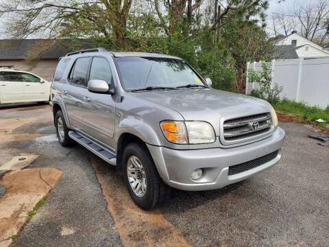 2004 Toyota Sequoia for sale at PIRATE AUTO SALES in Greenville NC
