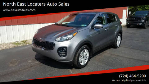 2018 Kia Sportage for sale at North East Locaters Auto Sales in Indiana PA